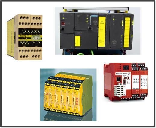Jokab, Siemens, Pilz and Allen-Bradley Safety PLCs