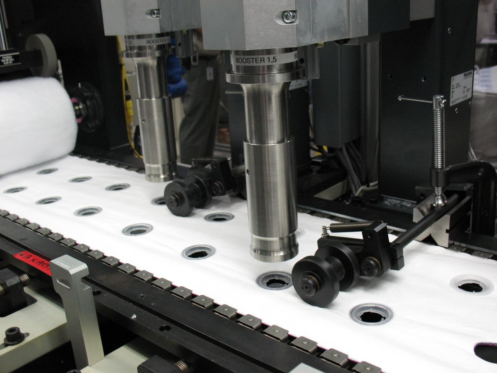 Ultrasonic Welding on Web