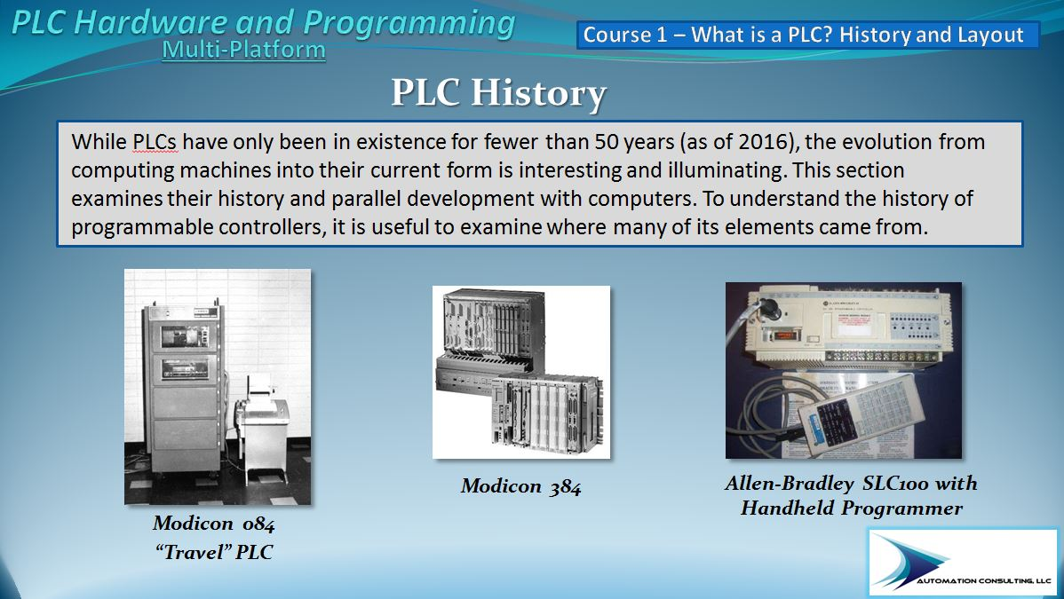 Birth of the Programmable Controller – AutomationPrimer