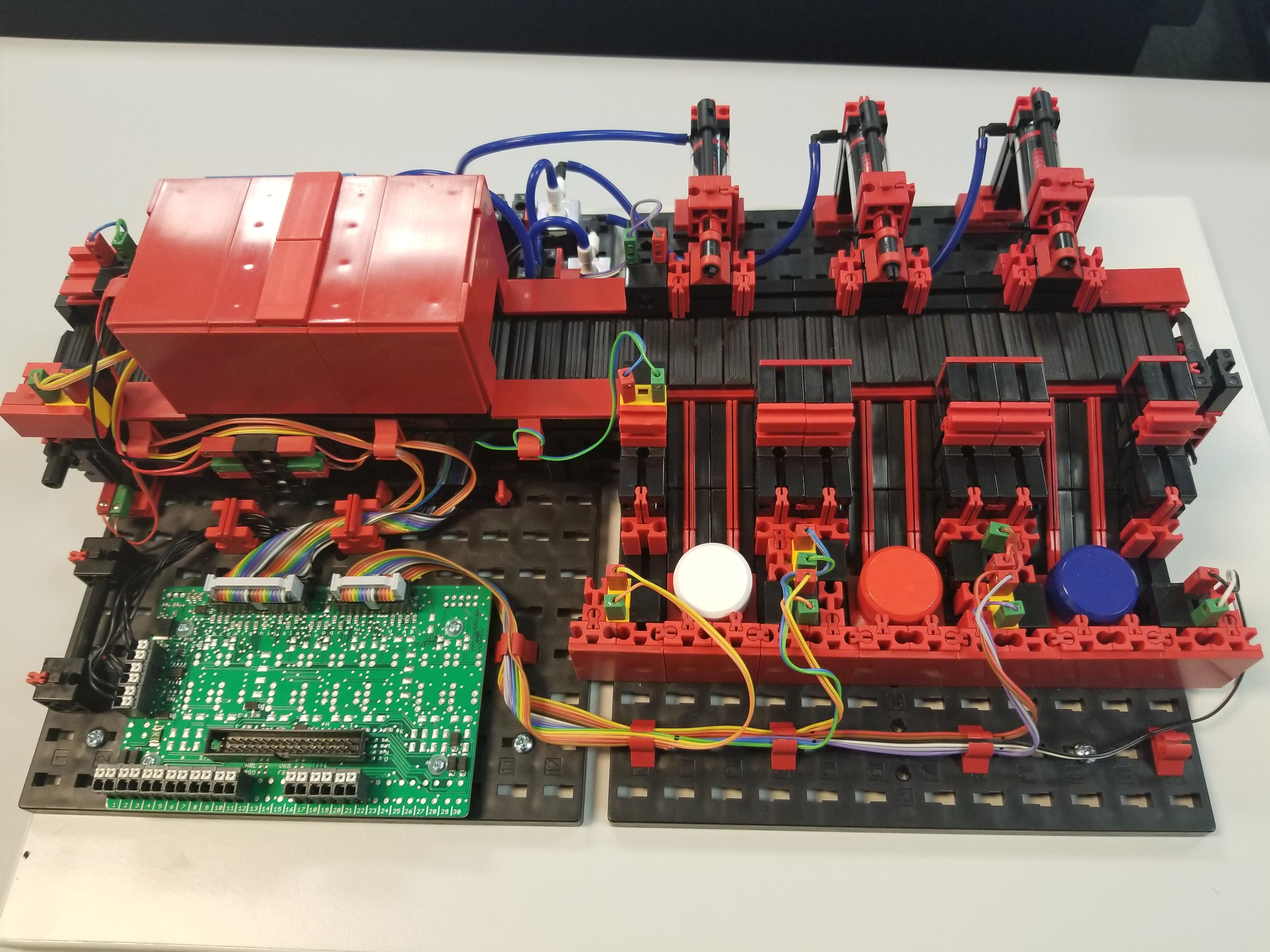 The Blog Automationprimer Wirepath Structured Wiring Fischertechnik Color Sorting Application